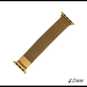 Accessories - Apple Watch 42MM Band Milanese Loop Gold New